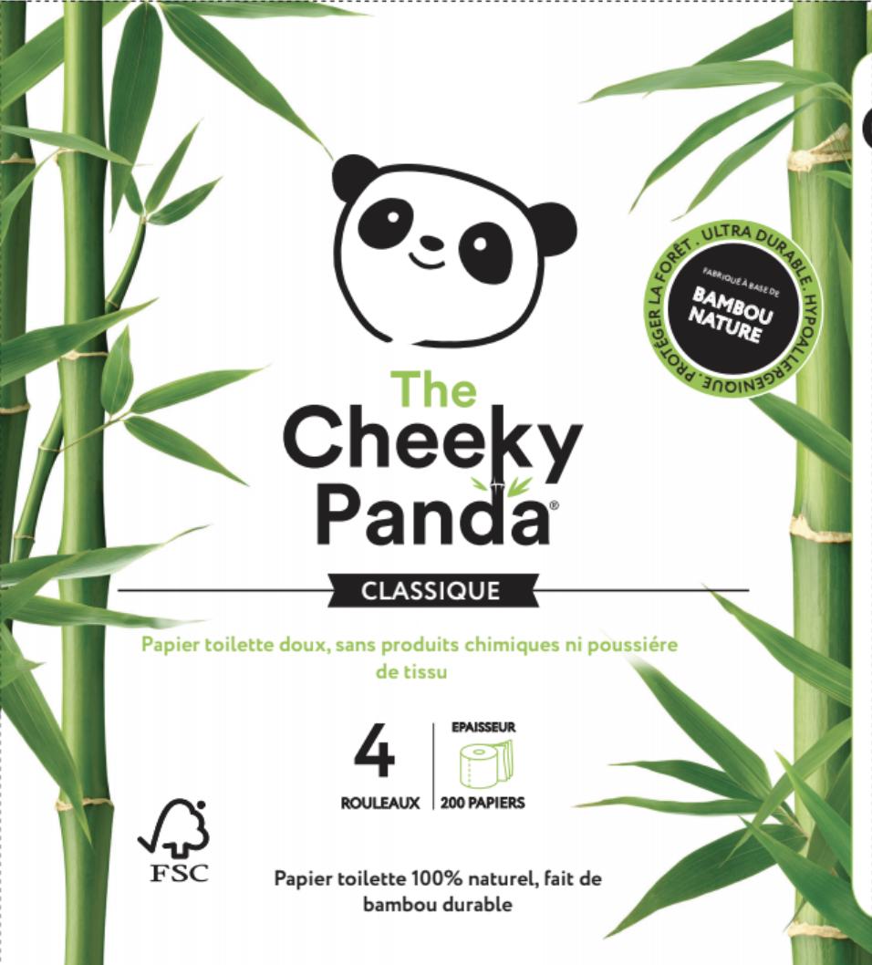 Papier toilette en bambou : The Cheeky Panda